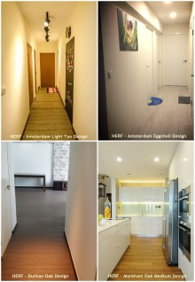High End Resilient Flooring (HERF) for Entrance Hall and Walkway