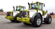 Swecons Volvo L70F Green Racing hjullastare debuterar i STCC