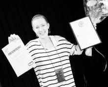 Årets Vikarie 2012 utsedd - Johline Lindholm 24 år från Södermalm, Stockholm