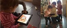 QR-koder väcker barnens nyfikenhet