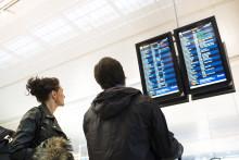 Stark trend i flygresandet från Landvetter fortsätter