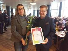 SunPine diplomerat för sitt breda hållbarhetsarbete
