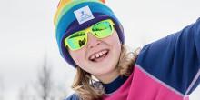 Premiär för Skogsmulles vinterhinderbana - lätt att göra själv!