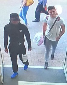 CCTV issued after mobile phones stolen from shop in Farnborough