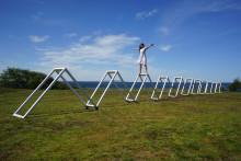 Ängelholms kommun inviger konstverket The Wave i Skälderviken