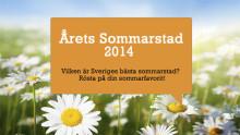 Årets Sommarstad 2014 - Vilken är Sveriges bästa sommarstad?