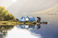 Lightweight is not enough  – Fjällräven launches new prize-winning tent collection