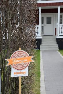 Det råder fiberyra i Sandviken – fler hushåll får fiber
