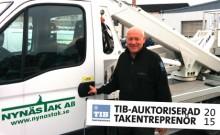 Nynäs Tak Entreprenad Norrland vinner upphandlingar på sunda villkor med TIB-auktorisationen
