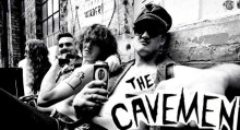 THE CAVEMEN: London-Kiwi Cretins Drop Tour Bomb on Brazil, Mexico, USA