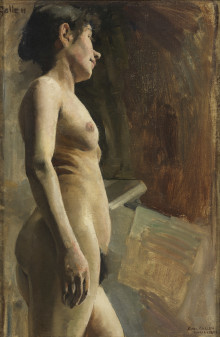 Nationalmuseum acquires a model study by Akseli Gallen-Kallela