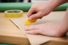 Cortadores con cuchillas de cerámica de STANLEY® -  Reduciendo el riesgo de accidentes en los lugares de trabajo