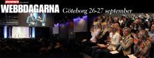 Gör själv-trenden i fokus på fullsatt Webbdagarna Göteborg 26-27 september