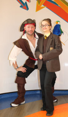 Shiver me timbers! New outpatient pharmacy at Birmingham Children's Hospital
