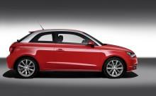 Audi A1 – nästa stora Audi: Sportighet och individualitet i kompaktklassen
