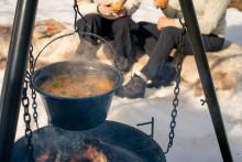 Bålforbud i påsken - hva med mat på bålpanne?