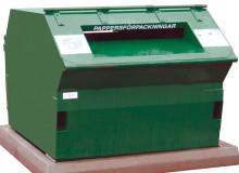 Alla återvinningsstationer i Nynäshamn rustas upp i vår