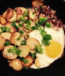 Månadens recept november - Potatispanna med ägg