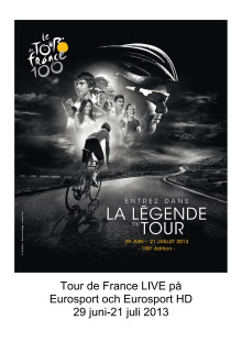 Pressinfo: Tour de France 2013 på Eurosport