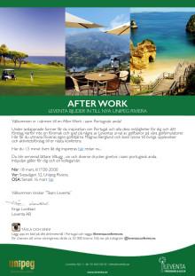 Leventa bjuder in till Afterwork om Portugal