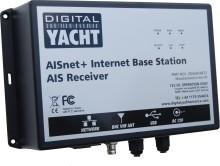 La estación base AISNet + proporciona conectividad AIS a puertos y estaciones marítimas con una instalación sencilla gracias al nuevo divisor de antena incorporado