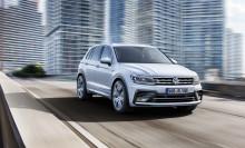 Fem stjärnor till nya Tiguan i Euro NCAP