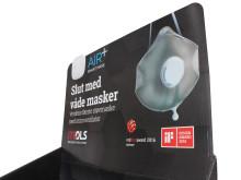 CASE: High-end display sætter skub i salget af åndedrætsmaske