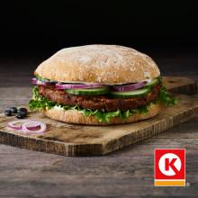 Frisklavet veggie burger på en tankstation? Nej, vel...