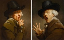 Nationalmuseum acquires two self-portraits by Joseph Ducreux
