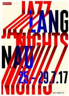 Die 27. Langnau Jazz Nights finden ab dem 25.07. 2017 statt