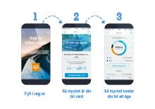 Ny gratis-app räknar ut vad din bil kostar att äga