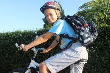 Hvert femte barn bliver kørt til skole