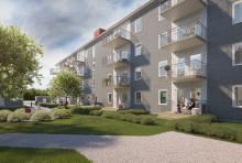 BoKlok säljer 36 lägenheter rättvist i Höganäs