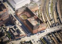 Historisk postsentral omdannes til Villa Copenhagen