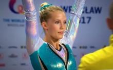 Lina Sjöberg vinner internationell tävling i DMT i överlägsen stil