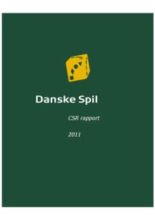 CSR rapport 2011