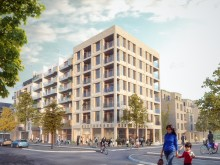 De får bygga de första 450 bostäderna på kommunens mark i Täby park
