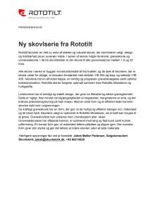 Ny skovlserie fra Rototilt