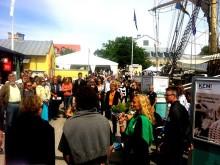 Seminarier och utställningar om Östersjön i Hållbara Havs Almedalsprogram ombord på Tre Kronor