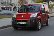 Citroën Nemo vald till Årets Transportbil 2009