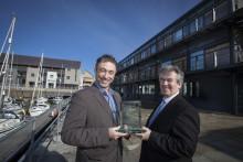 Galeri Caernarfon Cyf Awarded Wales Social Enterprise Of The Year 2013 / Galeri Caernarfon Cyf Yn Cipio Gwobr Menter Gymdeithasol Y Flwyddyn Cymru 2013