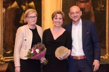 Maria Mattsson Mähl, grundare av AlphaCE Coaching & Education, korad till Årets Grundare Syd 2017