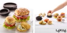 Silikonformar för de perfekta hamburgerbröden