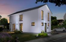 Neu bei Town & Country: Kompaktes Massivhaus für schmale Grundstücke – Das Stadthaus Aura 125