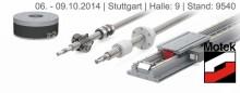 Isel Germany AG ställer ut på Motek i Stuttgart  6-9 Oktober, här kommer de att visa flera nyheter. Besök dem i Hall 9, Monter 9540