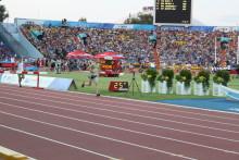 Linköpingsstudenten från Gemla - elva i finalen på 3 000 m hinder på Universiaden