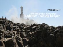 Global campaign starts – Together We Dig Deeper