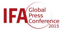 IFA 2015 Global Press Conference: Dyson präsentiert neuen kabellosen Staubsauger v6 und CSYS-Leuchte von Jake Dyson