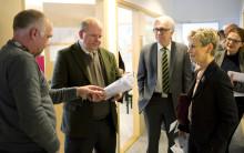 Landsbygdsministern lät sig imponeras av Östergötlands gröna näringar