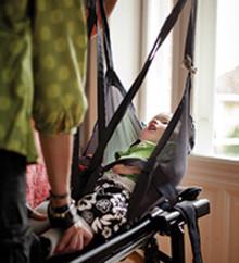 Utbildningsfolder barnhjälpmedel tippbrädan Caribou – Clinical och Therapeutical